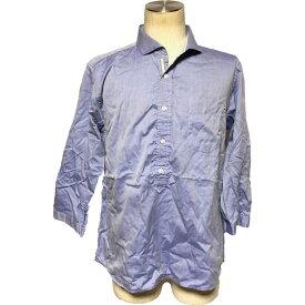☆【送料無料】ムッシュニコル(Monsieur NICOLE)7分袖丈デザインシャツ 2【中古】☆【2019ss】