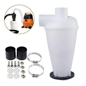 サイクロン 集塵機 集じん機 DIY 木工作業道具 自作 塵セパレーターコマンダー ホワイト/ブラック選択可