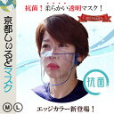 抗菌 透明 ◆ シールドマスク 透明マスク 抗菌マスク フェイスシールド ◆ 日本製 柔らかい 耳が痛くない 息がしやす…