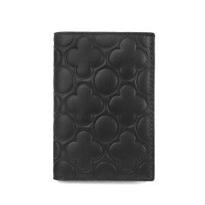 COMME des GARCONS コムデギャルソン カードケース エンボス レザー ブラック SA640E ENBOSSED BLACK | ブランド
