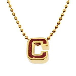 COACH コーチ ネックレス レディース C モチーフ ペンダント レッド×ゴールド F90810 CMCBY | ブランド