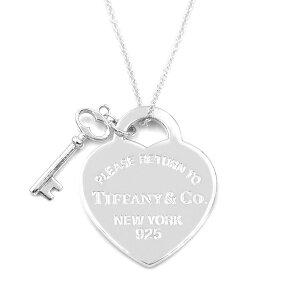 Tiffany ティファニー ネックレス レディース リターン トゥ ティファニー ハート タグ キー ペンダント シルバー 26909686 | ブランド