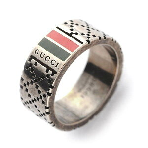 《オープン記念クーポン配布中》GUCCI グッチ 指輪 リング メンズ レディース ディアマンティッシマ リング クロームシルバー 295675 J89L0 8518 | ブランド