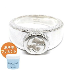 GUCCI グッチ 指輪 リング メンズ レディース インターロッキング Gリング シルバー [9号-25号] 479228 J8400 8106 | ブランド