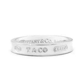 Tiffany ティファニー リング メンズ レディース 指輪 1837 ナローリング シルバー | ブランド