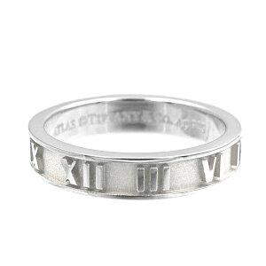 Tiffany ティファニー リング メンズ レディース 指輪 アトラス ナローバンド シルバー SS NRW CLSD ATLAS | ブランド