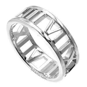 《最大1200円クーポン_16日1:59迄》Tiffany ティファニー リング メンズ レディース 指輪 アトラス オープンリング ワイド シルバー SS WD OPEN ATLAS | ブランド