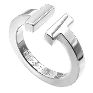 《最大1200円クーポン_15日23:59迄》Tiffany ティファニー リング レディース 指輪 ティファニーT スクエアリング シルバー SS T SQUARE | ブランド