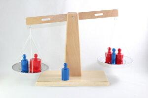 モンテッソーリ はかり 天秤 Montessori Scale 知育玩具