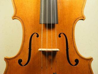 有中提琴Massimo Negroni Cremona 1987機身42cm製造證明的16.5英寸