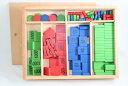 モンテッソーリ 切手遊び スタンプ・ゲーム Montessori Stamp Game 知育玩具