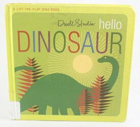 hello Dinosaur 【古本】【英語】ボードブック Dwell Studio