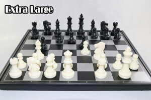 マグネット チェス駒セット ♪特大♪ 盤35.5 cm x 35.5 cm