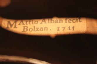 意大利製造Mattio Alban 1711