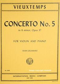 楽譜  Vieuxtemps Concerto No. 5 in a minor Op. 37 ヴュータン バイオリン協奏曲 第5番 イ短調2 Galamian ガラミアン