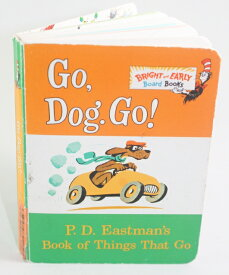 Go, Dog. Go! Things that Go【古本】【英語】ボードブック P.D. Eastman