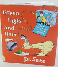 Green Eggs and Ham 【古本】【英語】ボードブック Dr. Seuss