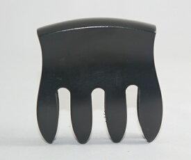 ミュート 黒檀 くし型(コンツアード) コントラバス用 4本爪 4 Prong