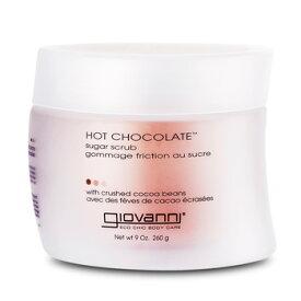 ジョヴァンニ ホットチョコレート シュガーボディスクラブ 260g/9oz (ボディスクラブ) Giovanni Hot Chocolate Sugar Scrub
