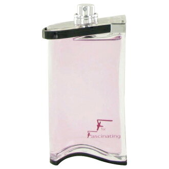 サルヴァトーレフェラガモエフフォーファシネイティング EDT eau de toilette SP 90 ml (unused a tester) SALVATORE FERRAGAMO F FOR FASCINATING EAU DE TOILETTE SPRAY (TESTER)