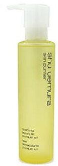 150 ml of shu uemura cleansing beauty oil premium A/I SHU UEMURA SKIN PURIFIER CLEANSING BEAUTY OIL PREMIUM A/I