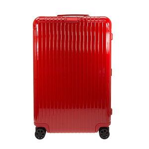 リモワ RIMOWA スーツケース エッセンシャル チェックイン L 85L ESSENTIAL Check-In L 83273654 グロスレッド ポリカーボネート