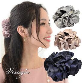 バンスクリップ 花 フラワー ヘアクリップ シンプル ヘアアクセサリー 髪留め クリップ 人気 ブランド 結婚式 ギフト vi-1331
