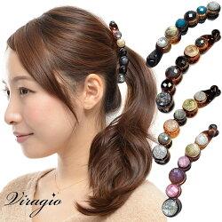 バナナクリップヘアクリップ大シンプルヘアアクセサリー髪留め大きめクリップパーティーギフトプレゼント人気vi-0401