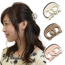 ヘアクリップ ミニ バンスクリップ シンプル ヘアアクセサリー 髪留め クリップ バンス 髪飾り 人気 ブランド 結婚式 ギフト 送料無料 vi-0665