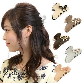 ヘアクリップ ミニ バンスクリップ シンプル ヘアアクセサリー 髪留め クリップ バンス 髪飾り 人気 ブランド 結婚式 ギフト 送料無料 vi-0666