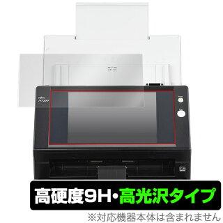 富士通イメージスキャナーN7100用保護フィルムOverLay9HBrilliantforFUJITSUImageScannerN7100(FI-N7100)9H高硬度で透明感が美しい高光沢タイプ