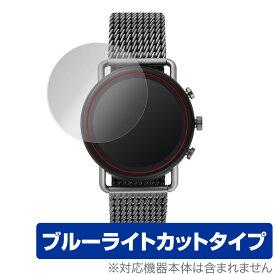 【15%OFFクーポン配布中】SKAGEN FALSTER3 保護 フィルム OverLay Eye Protector for SKAGEN FALSTER 3 (2枚組) 液晶保護 目にやさしい ブルーライト カット スカーゲン スマートウォッチ