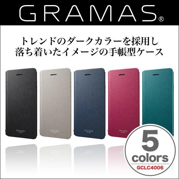 "iPhone 6s iPhone 6 GRAMAS COLORS Leather Case ""EURO Passione"" GCLC4006 【送料無料】【ポストイン指定商品】 iPhone6s iPhone6 アイフォン 手帳型 ケース ICカード カードホルダー 合皮 革 グラマス 手帳 手帳型ケース"