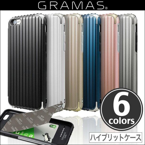 "iPhone 6s iPhone6 / GRAMAS COLORS ""Rib"" Hybrid case CHC406 / iPhone6s iPhone6 アイフォン ポリカーボネート ケース グラマス ICカード iPhone カバー"