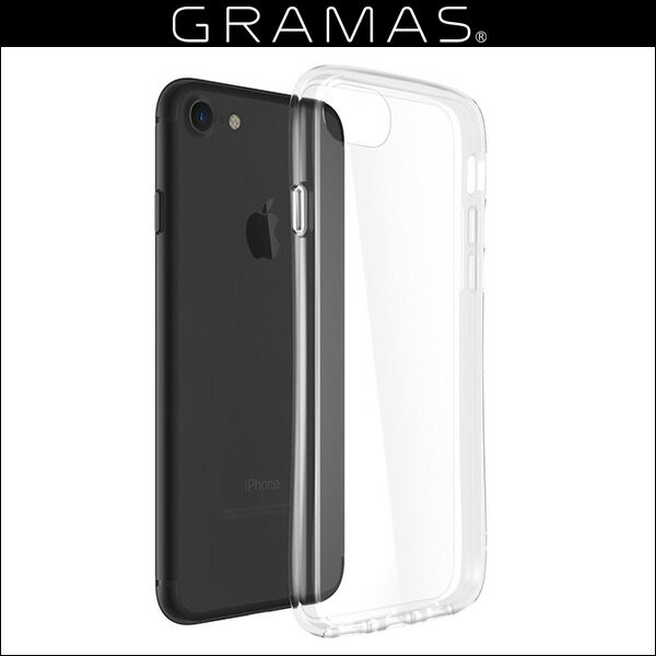 iPhone 8 / 7 / 6s / 6 用 GRAMAS COLORS Glass Hybrid Clear Case CHC-50127CLR for iPhone 8 / 7 / 6s / 6 【送料無料】【ポストイン指定商品】 ガラスハイブリッドケース 強化ガラス 傷が付きにくく、透明度を長く維持します