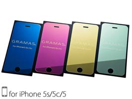 GRAMAS EXTRA Mirror Glass for iPhone SE / iPhone 5s / iPhone 5c/5 【ポストイン指定商品】
