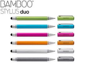タッチペン タップペン スタイラス Bamboo Stylus duo 3rd Generation