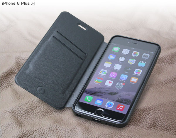 iPhone6 Plus ケース 手帳型 PUレザー ダイアリーケース iphone6 5.5 ケース レザー 手帳型ケース カード収納 ダイアリー 【ポストイン指定商品】PU レザーケース スタンド機能付き for iPhone 6s Plus / iPhone 6 Plus