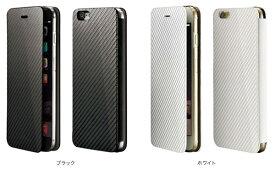 ディーフ Deff【送料無料】monCarbone Portfolio for iPhone 6s Plus / iPhone 6 Plus カーボン モンカーボンiPhone 6s Plus / iPhone 6 Plusケース 手帳型 カバー ジャケット