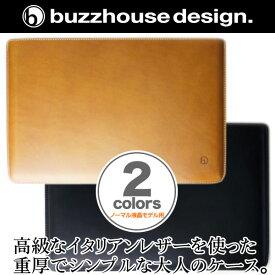 バズハウスデザイン buzzhouse design ハンドメイドレザーケース for NEC LaVie Hybrid ZERO HZ550/AABシリーズ(ノーマル液晶モデル用)