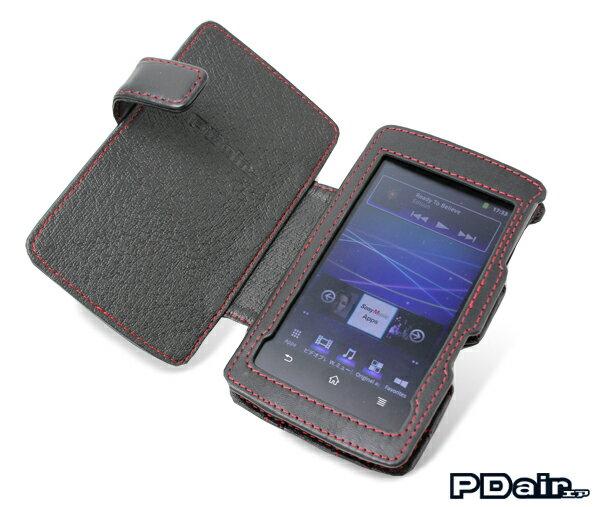 ウォークマン NW-Z1000シリーズ 用 ケース PDAIR レザーケース for ウォークマン NW-Z1000シリーズ 横開きタイプ