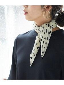 [Rakuten Fashion]【SALE/20%OFF】シアープリーツスカーフ ViS ビス ファッショングッズ スカーフ/バンダナ ホワイト ブラック【RBA_E】