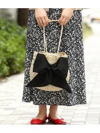 [Rakuten Fashion]【SALE/30%OFF】【WEB限定】【CASSELINI】リボン付きペーパートートバッグ ViS ビス バッグ トートバッグ ブラック ピンク ネイビー【RBA_E】