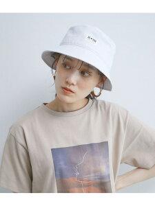 【CONVERSE】別注バケットハット ViS ビス 帽子/ヘア小物 ハット ホワイト ブラック【先行予約】*[Rakuten Fashion]