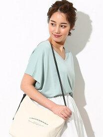 [Rakuten Fashion]ティラウス(R) バックタックTブラウス ViS ビス カットソー Vネックカットソー グリーン イエロー ピンク グレー