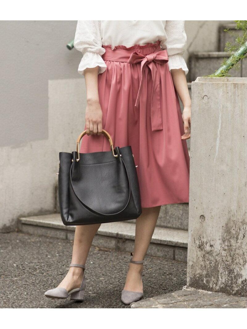 [Rakuten BRAND AVENUE]【SALE/20%OFF】【2WAY】リバーシブルカラースカート ViS ビス スカート【RBA_S】【RBA_E】