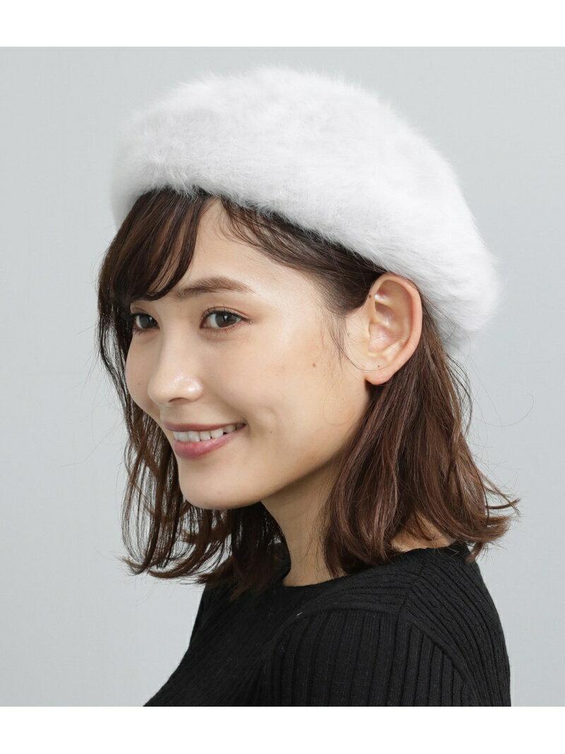 [Rakuten BRAND AVENUE]【SALE/30%OFF】アンゴラベレー帽 ViS ビス 帽子/ヘア小物【RBA_S】【RBA_E】