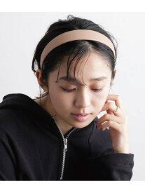 [Rakuten Fashion]フェイクレザーカチューシャ ViS ビス 帽子/ヘア小物 カチューシャ/ヘアバンド ベージュ ブラック