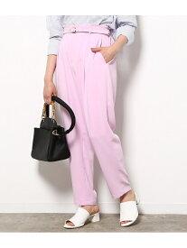 [Rakuten Fashion]【SALE/70%OFF】ベルト付きハイウエストパンツ ViS ビス パンツ/ジーンズ フルレングス ピンク ブルー グレー ベージュ【RBA_E】