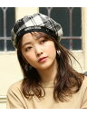 [Rakuten Fashion]【SALE/70%OFF】【PeterMacArthur×ViS】チェック柄ベレー帽 ViS ビス 帽子/ヘア小物 ベレー帽 ホ…